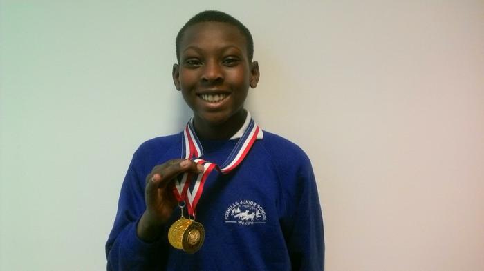 Christopher - LTA Tennis champion: 1st place!