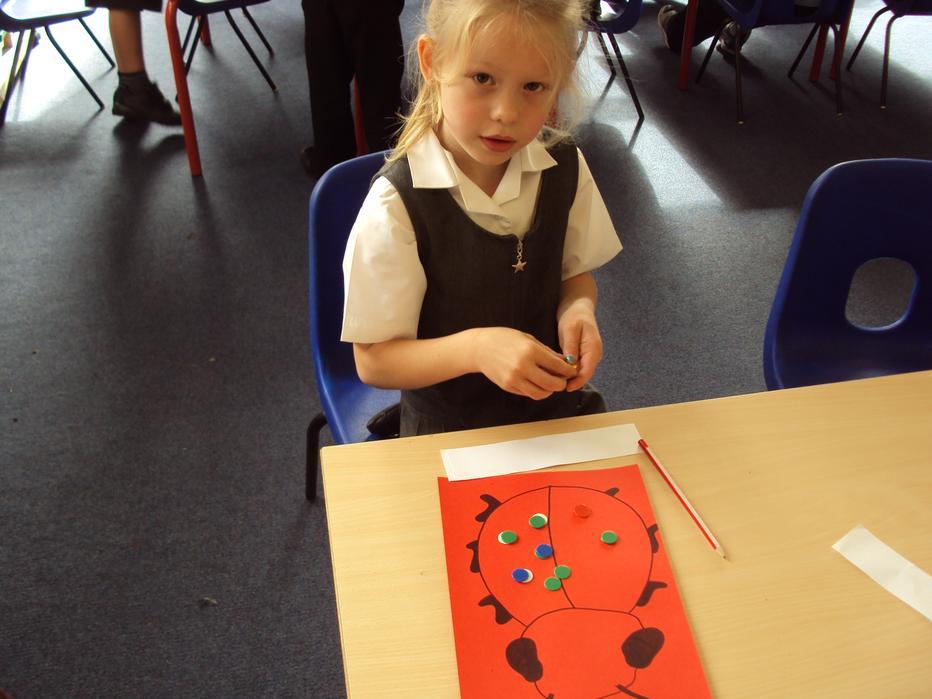 Making number bonds of 10.