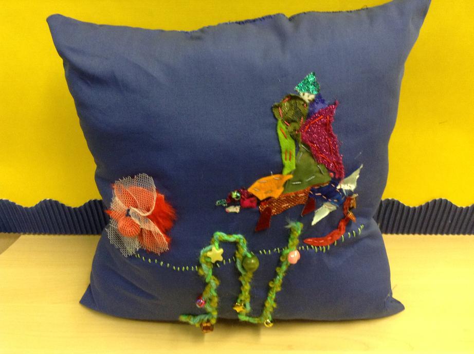 Textiles: making cushions