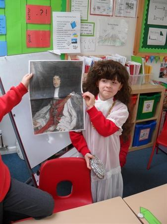 A visit from his majesty, King Charles II