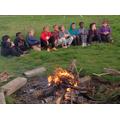 Campfire entertainment.