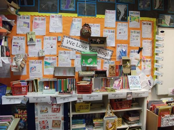 Reading display Year 6