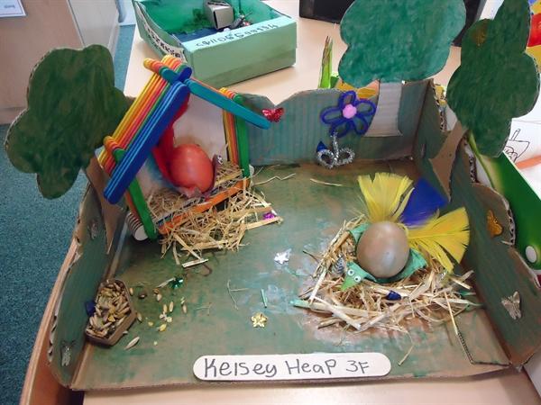 Kelsey's egg scene