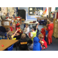 Learning how to take part in a group role play