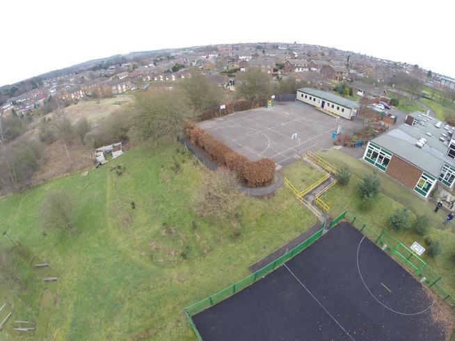 KS2 playground and MUGA pitch