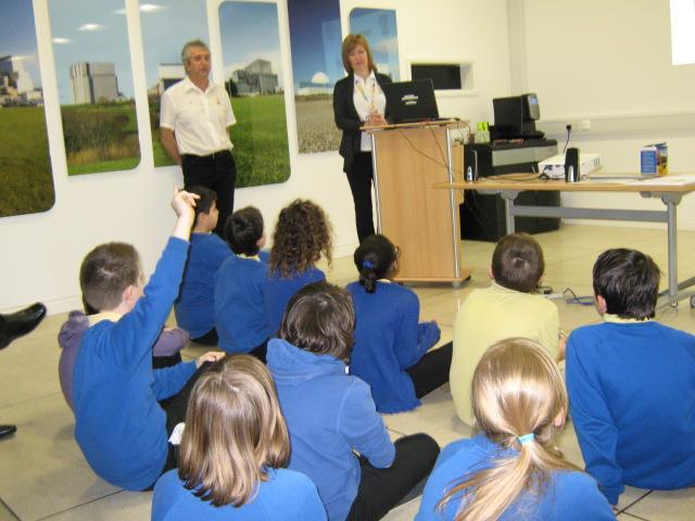 Year 6 visit to Hinkley Point Power Station.