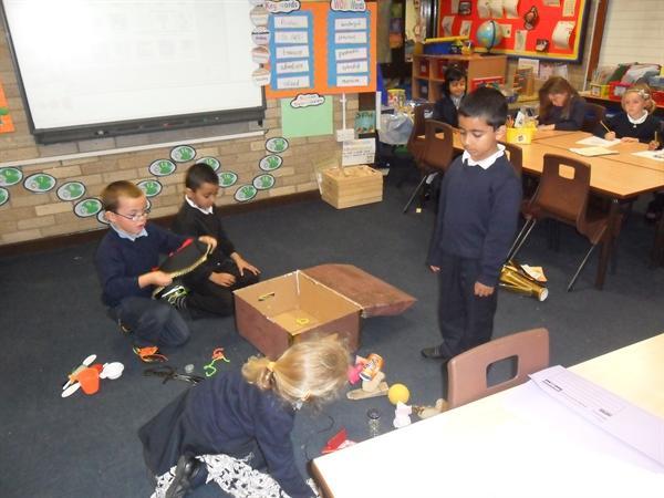 Sorting and investigating materials