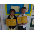 Our Class 6 winners!