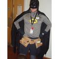 Batman came to school today!