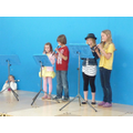 Recorders at the summer fair