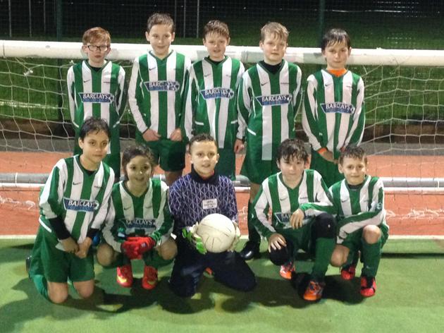 Congratulations to the Trull School Football Team.