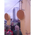 The SS Nomadic - sounding the horn