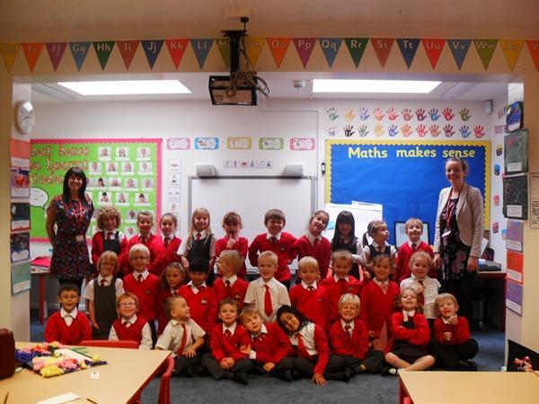 Year 1 with Mrs Williams and Mrs Taylor