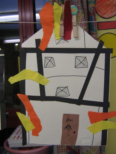 Year 1 & 2 Fire of London houses