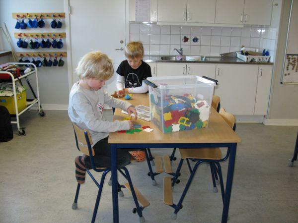 Ulriksberg: children in their 'free choice' lesson