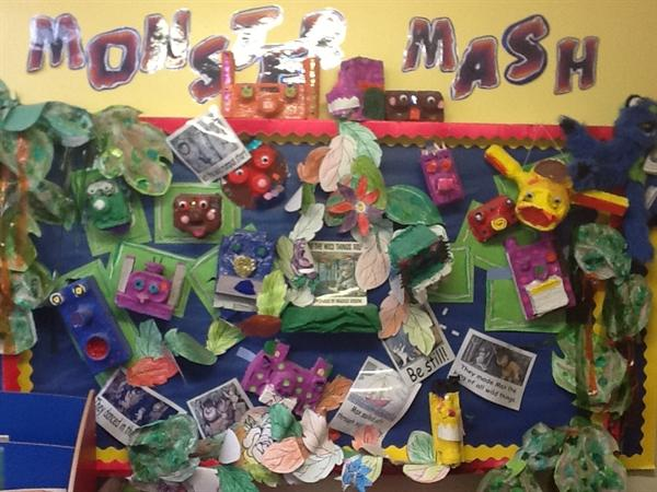 Our Monster topic in Year 1!