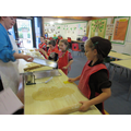 Year 2 making biscuits to sell