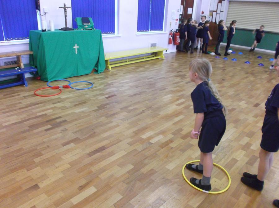 Throwing - target practise