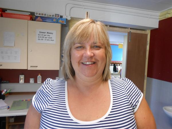 Mrs Rodgers is our Classroom Assistant