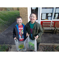 A fab litter pick done boys well done