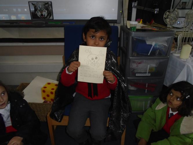 Arav enjoyed sharing his story