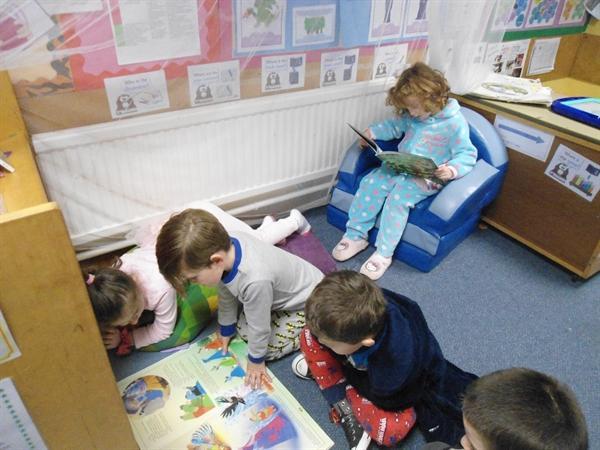 We enjoyed reading together