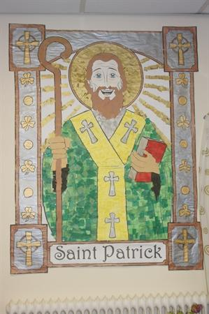 Our collage of St Patrick