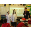Lab coats - to prove we are scientists!