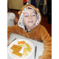 Even Pudsey needs a healthy lunch!