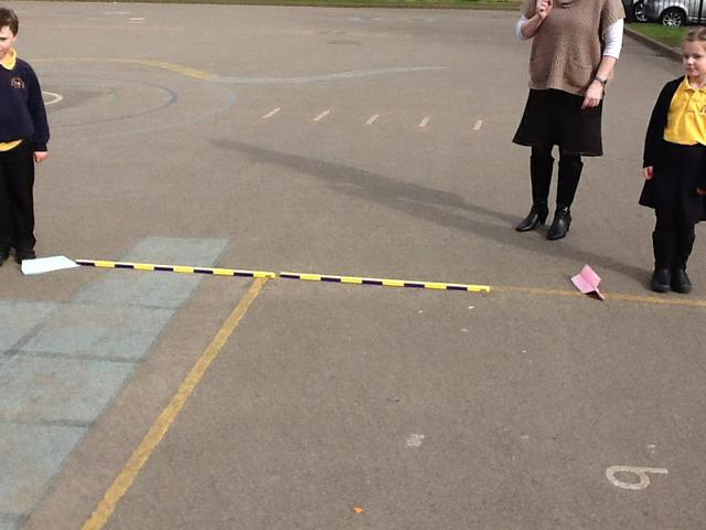 Measuring the distance and comparing!