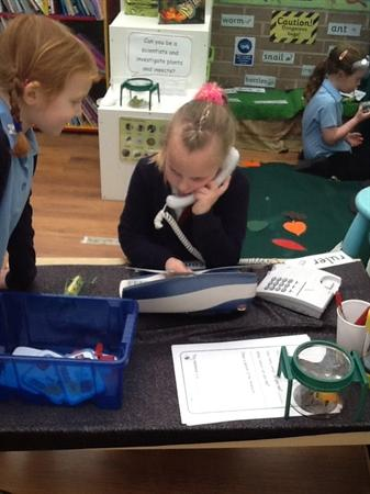 Fab learning in our mini beast lab!