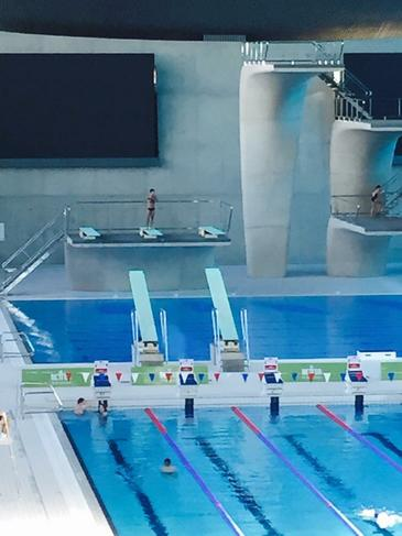 If you look closely you will see Tom Daley