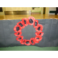 Year 5 Poppy Wreath