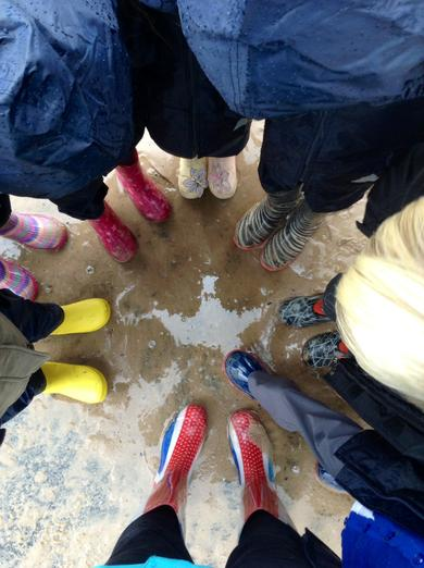 Wellies at the ready!