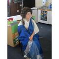 Traditional Roman clothing.
