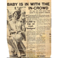 1960s newspaper article