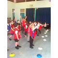 Inter-house dodgeball