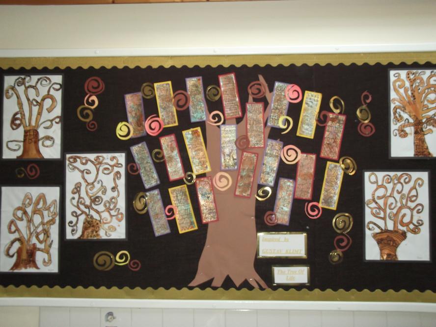 "Inspired by Gustav Klimt  ""The Tree of Life"""