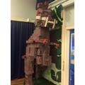 Our fabulous junk dinosaur!