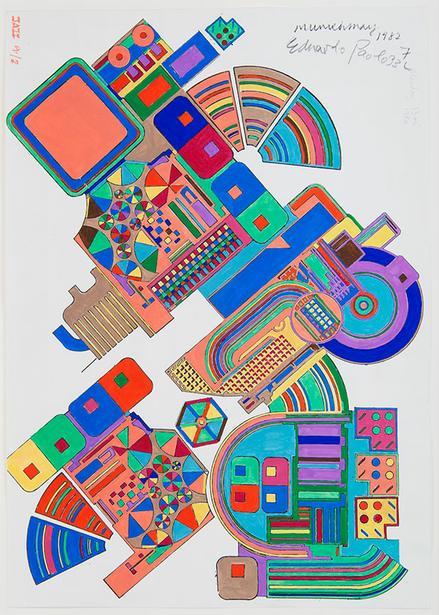 Inspired by Eduardo Paolozzi