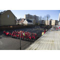 The KS2 playground (lining up to into class)