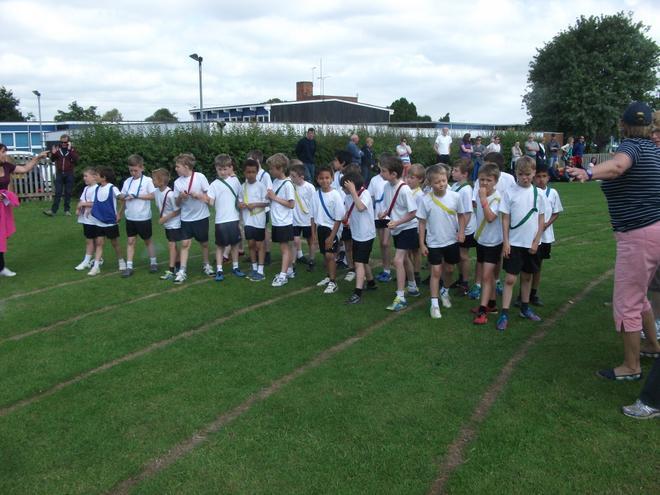 School Sports Day - long distance race