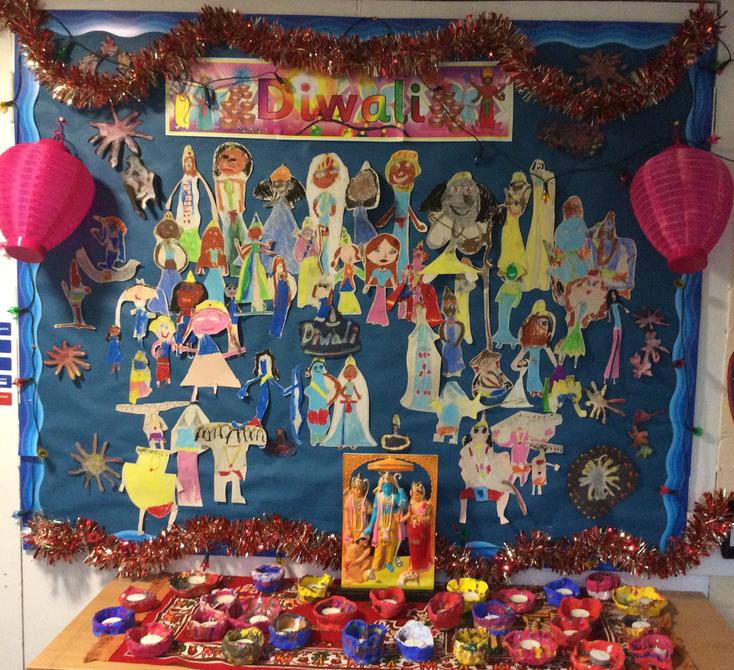 Diwali display from Y3