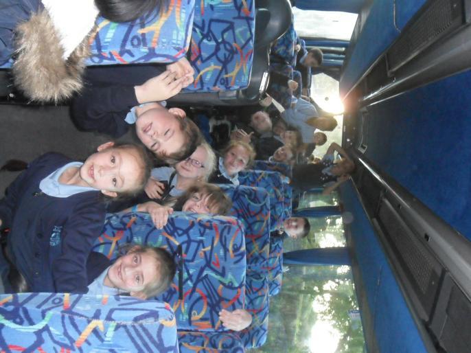 The loooooong coach journey home!