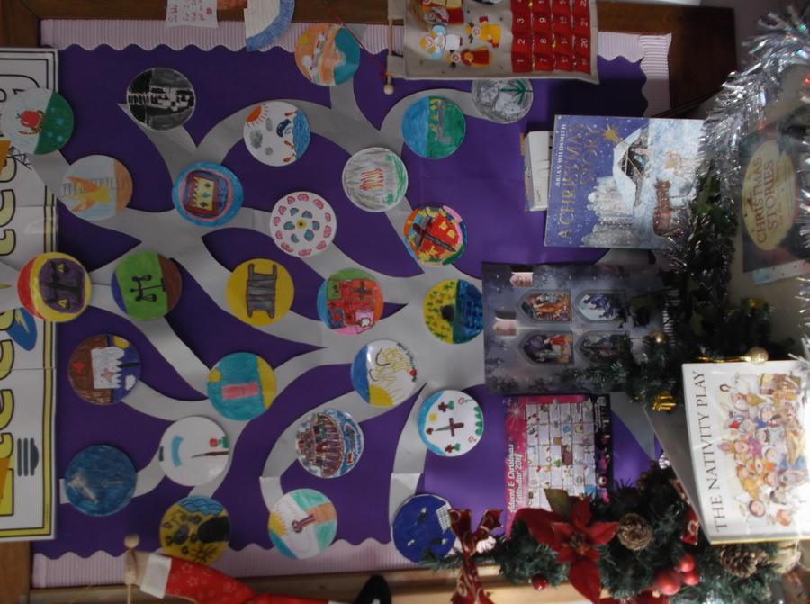 Our impressive Jesse Tree