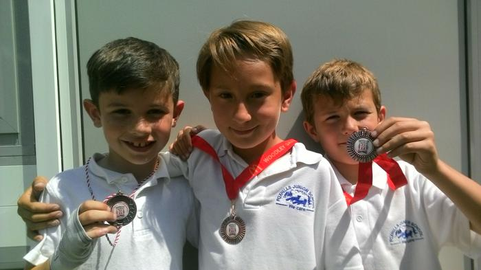 Lewis+Sergio+Ethan - Football Competition Winners!