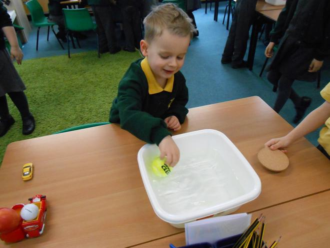 Investigating floating and sinking