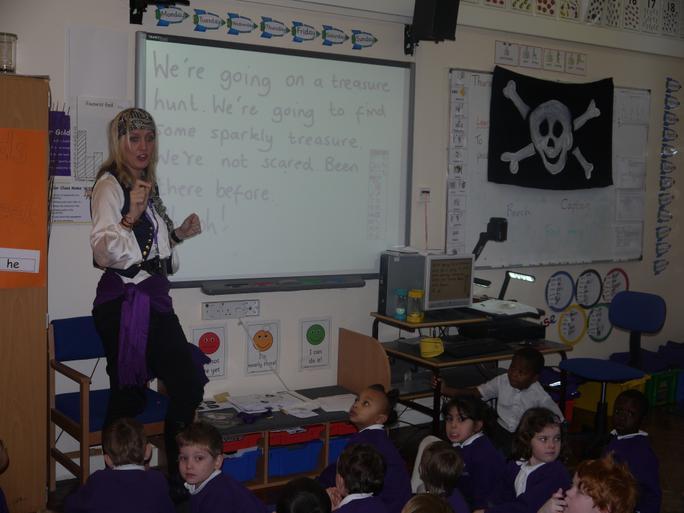 Pirate teachers!