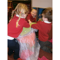 Imaginative play-the castle has a flood!