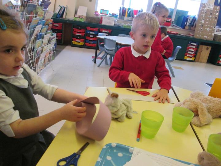 The children thought about making a straw